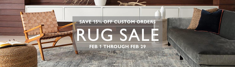 Rug Sale Feb 1 - 29